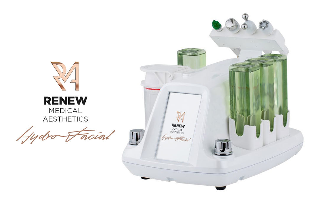 Renew Medical Aesthetics, Hydro-Facial hydradermabrasion and aqua peeling