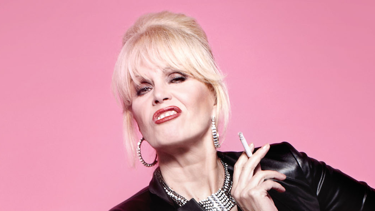 Joanna Lumley as Patsy from Absolutely Fabulous, Ponds Cold Cream