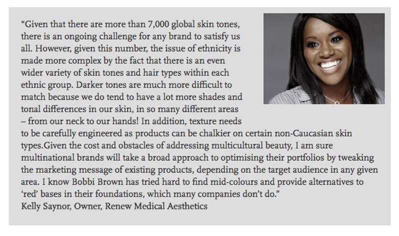 Kelly Saynor, Cosmetic Business News