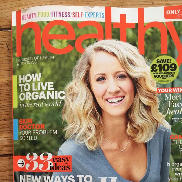 Kelly Saynor, Healthy Magazine
